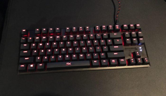 HyperX anuncia mais duas novas versões de seu teclado Alloy