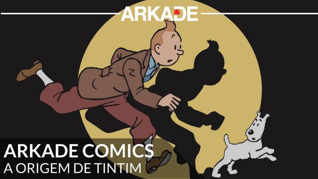 Arkade Comics – A Origem de Tintim