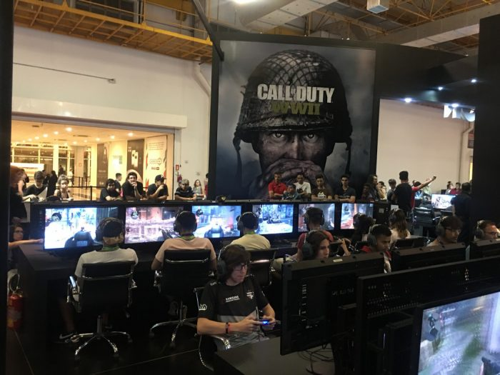 BGS 2017: O multiplayer frenético de Call of Duty WWII