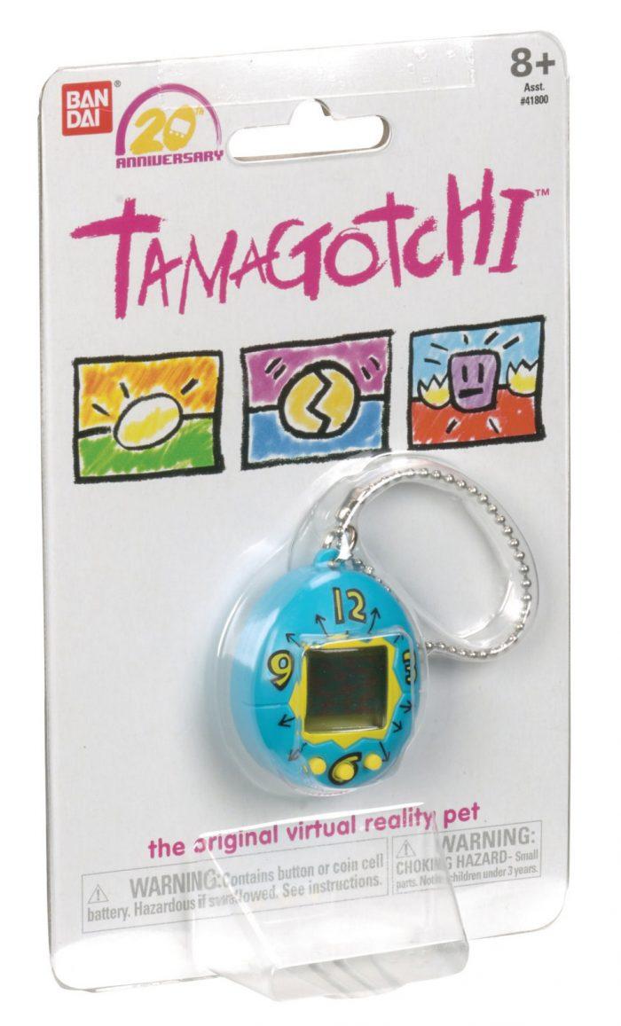 Os Tamagotchis estão voltando para celebrar seus 20 anos!
