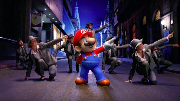 O novo trailer de Super Mario Odyssey é quase um musical da Broadway!