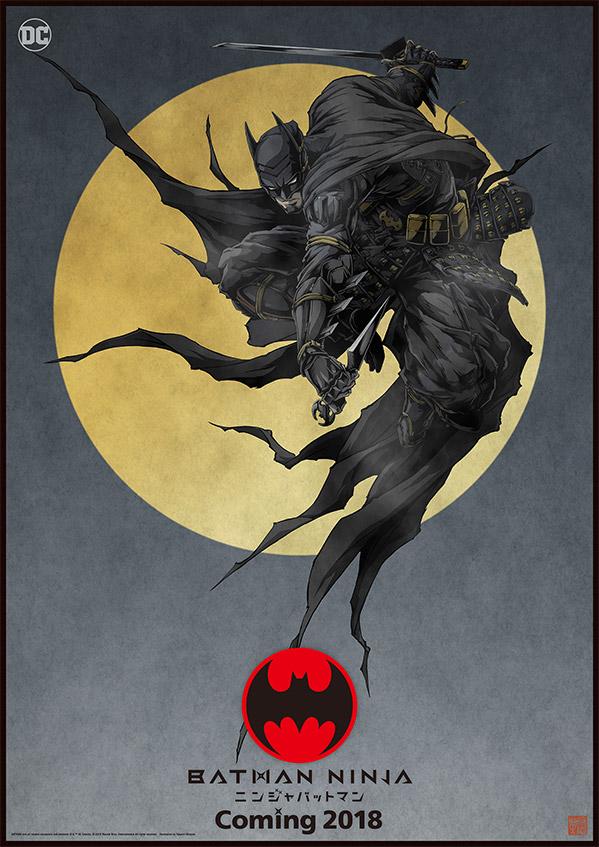 Próxima animação de Batman transformará o herói em um ninja do Japão Feudal