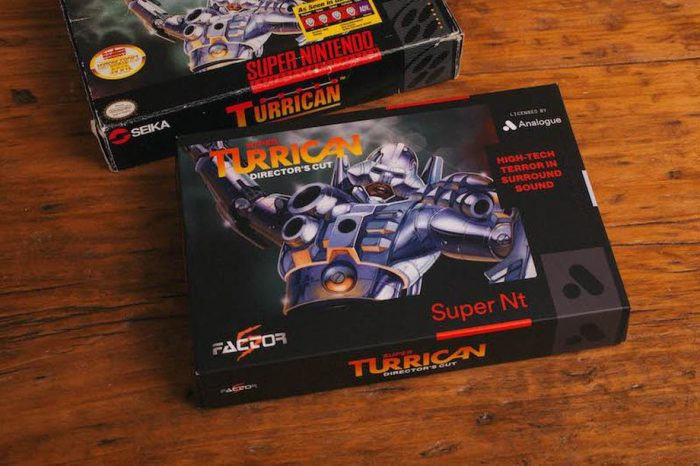 Super Nintendo alternativo da Analogue também terá jogo novo: Super Turrican Director's Cut