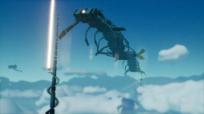 Análise Arkade: Oure tenta misturar Journey com Shadow of the Colossus