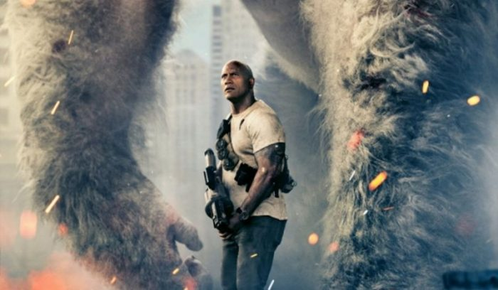 Confira agora ao primeiro trailer da adaptação de Rampage para os cinemas