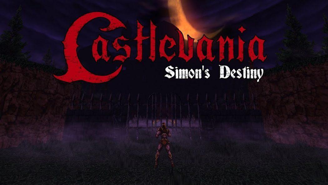 Nostalgia em dose dupla, confira e jogue agora a mistura de Castlevania e Doom!