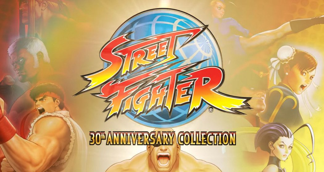 Coletânea Street Fighter 30th Anniversary Collection sai em 2018
