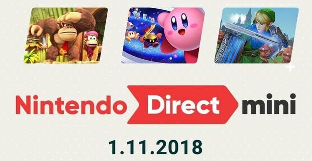 Direct Mini da Nintendo anuncia novos títulos para o Switch