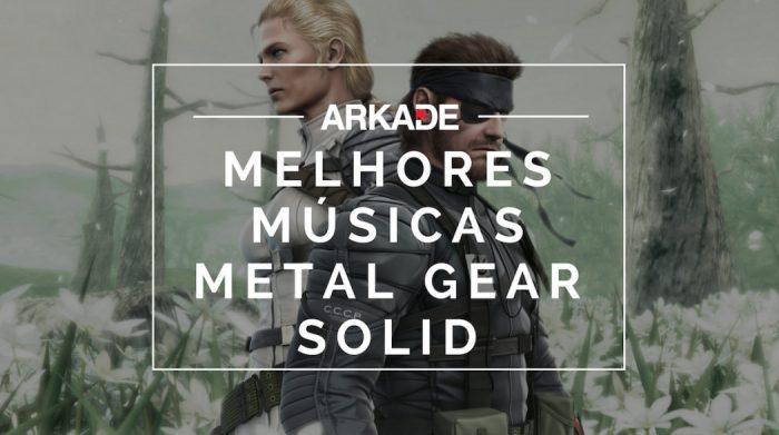 Top 10 Arkade - As melhores músicas de Metal Gear Solid