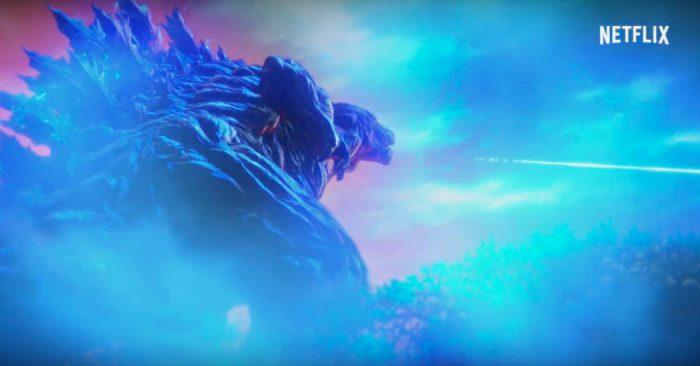 Assistimos ao Godzilla da Netflix, que explora um universo novo para a franquia