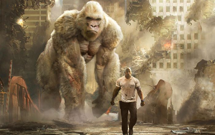 Rampage: filme que adapta game de monstros gigantes ganha novo trailer