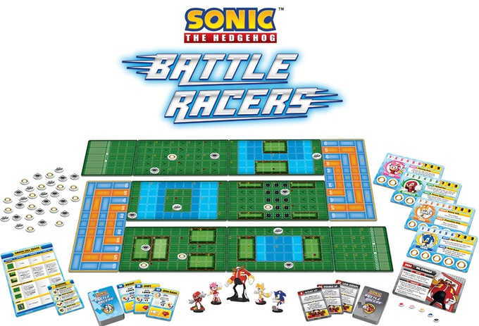Battle Racers, board game de Sonic The Hedgehog é anunciado no Kickstarter