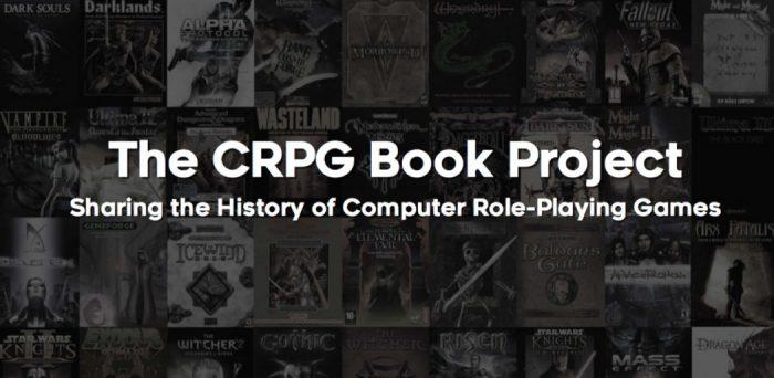 Conheça o CRPG Book Project, livro feito por brasileiro que conta a história do RPG nos games