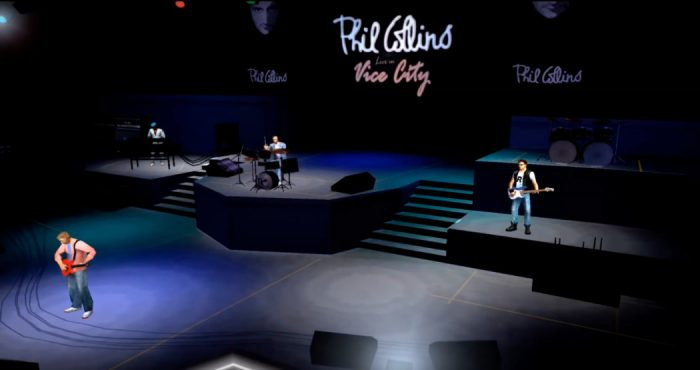 Rock and Games - O dia em que Phil Collins visitou a Vice City de GTA