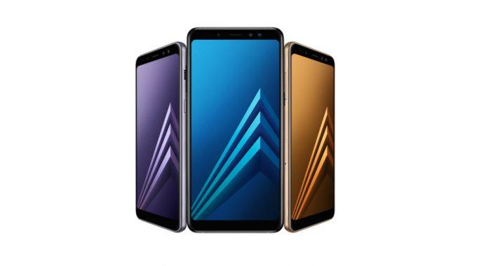 Samsung apresentou o Galaxy A8 e o A8+ com 64GB de armazenamento e câmera dupla para selfies
