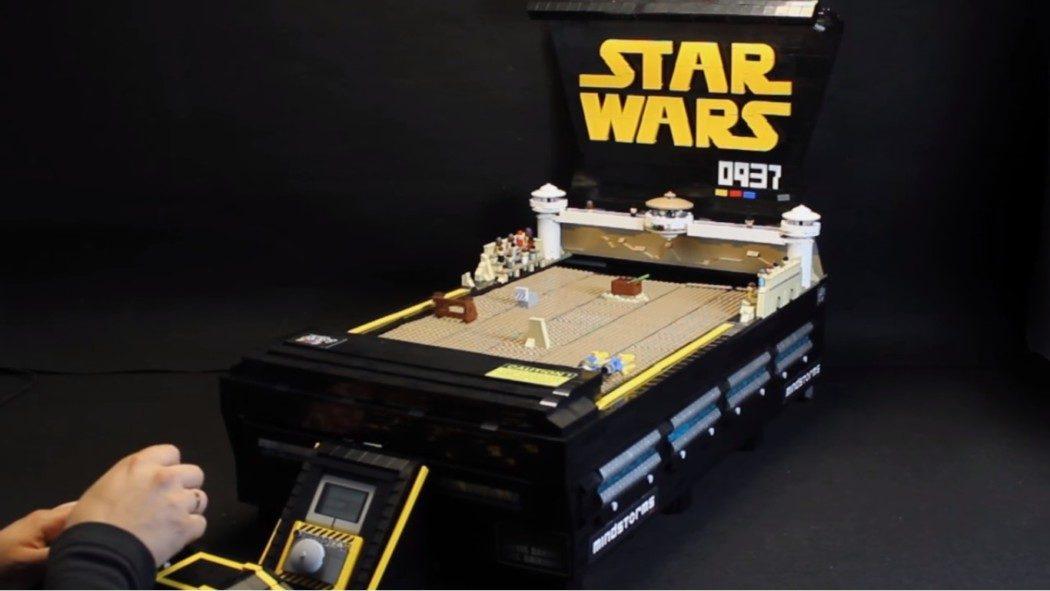 Do Nintendo 64 para os bloquinhos: Star Wars Episode I Racer é recriado em peças de Lego!