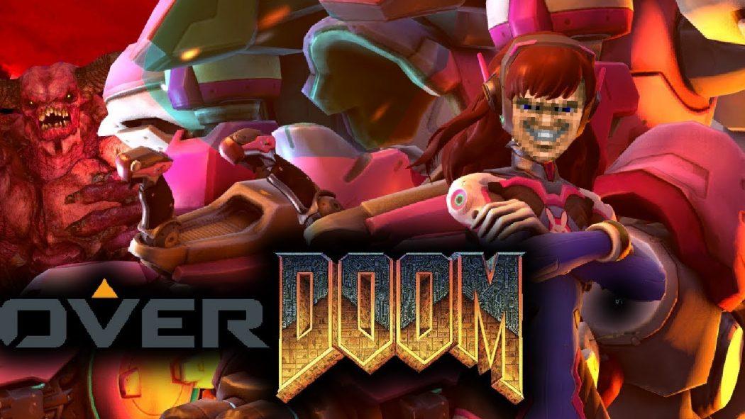 Overdoom: Conheça o mod que insere as armas de Overwatch dentro de Doom!