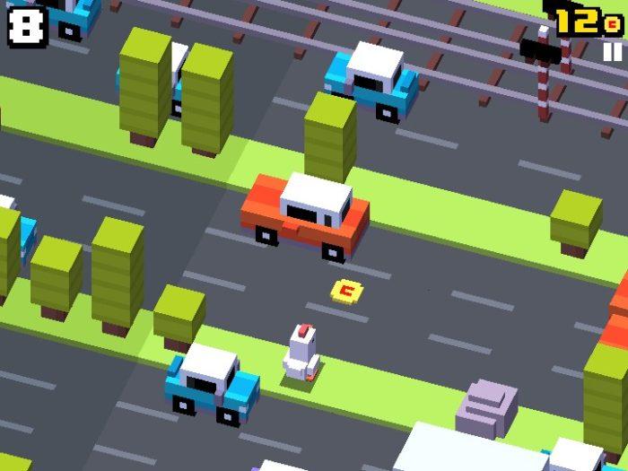 Ajude, como nos velhos tempos, uma galinha a atravessar a rua em Crossy Road