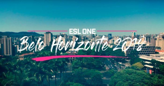 Belo Horizonte será sede do ESL One 2018, com oito times de CS:GO disputando US$ 200 mil em prêmios