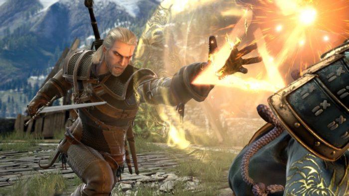 Geralt, da série The Witcher, vai cair na porrada em SoulCalibur VI!
