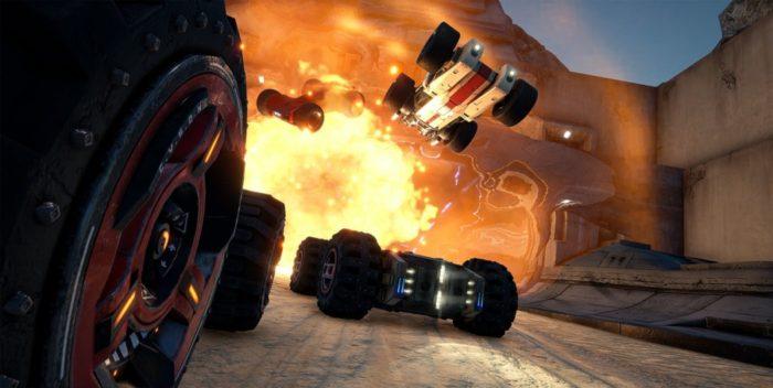 GRIP: vem aí um novo game que mistura corrida, parkour e combate veicular!