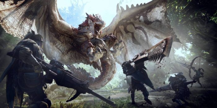 Monster Hunter World já é o game mais vendido da história da Capcom!