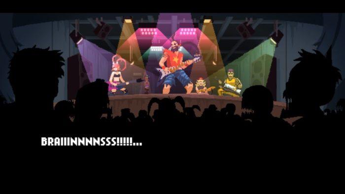 Análise Arkade: Double Kick Heroes mistura ritmo, apocalipse zumbi e heavy metal