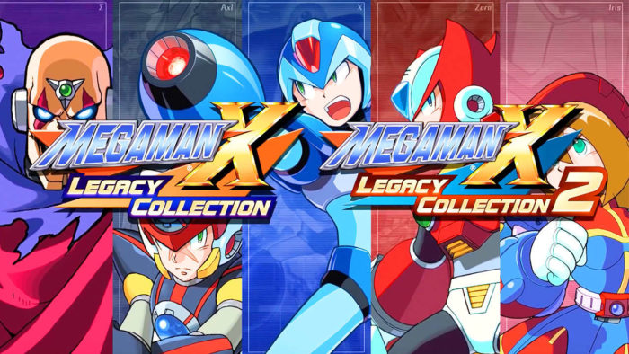 Capcom anuncia Mega Man X Legacy Collection 1 e 2 para PC, PS4, XOne e Switch!