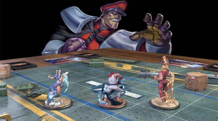Jogo de tabuleiro de Street Fighter atinge a sua meta no Kickstarter em apenas um dia