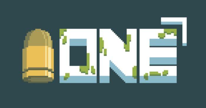 One é um indie game onde você tem uma vida... e só uma bala na sua arma