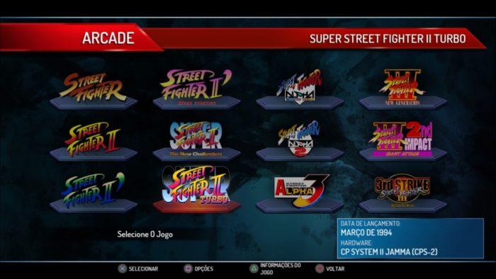 Análise Arkade: Street Fighter 30th Anniversary Collection é uma porrada de nostalgia