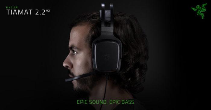 Análise Arkade: gaming headset Razer Tiamat 2.2 V2