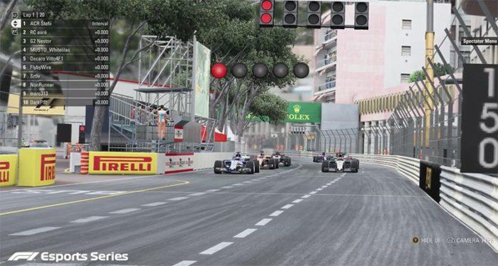 Confira como foi a última etapa das classificatórias do F1 Esports Series, em Mônaco