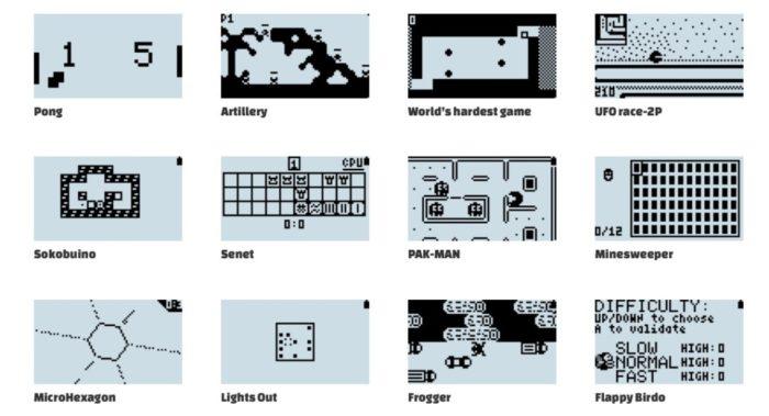 O MAKERbuino é um videogame portátil que você mesmo pode fazer