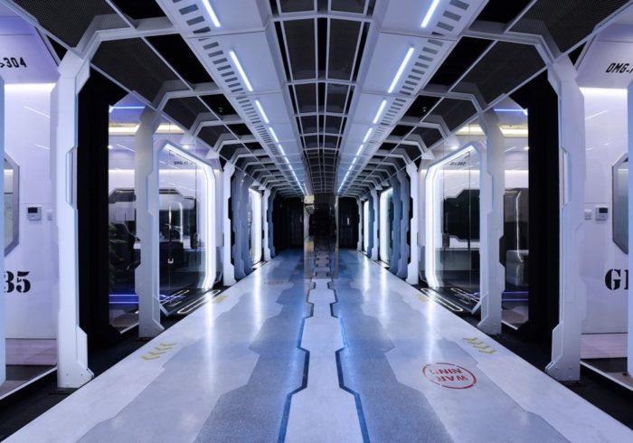 O centro de treinamento do time de eSports chinês OMG parece saído de um filme de ficção científica