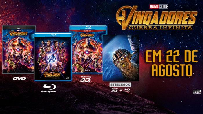 Confira todo o material extra que irá acompanhar o Blu-Ray de Vingadores: Guerra Infinita