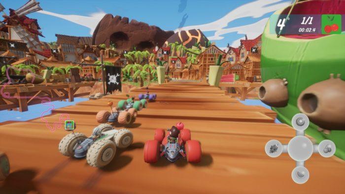 Análise Arkade: All-Star Fruit Racing é corrida de kart com gostinho de fruta