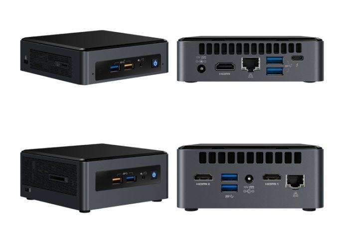 Intel apresentou novos miniPCs da sua família NUC