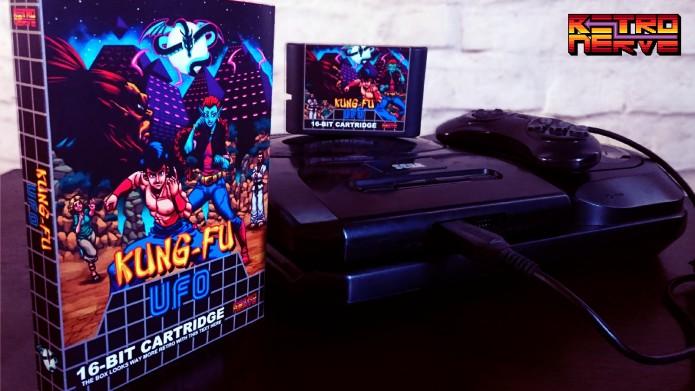 Jogamos o alpha de Kung Fu UFO, o novo game de Mega Drive