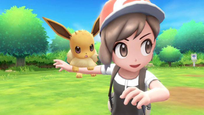 BGS 2018: Jogar com a Pokebola em Pokémon Let's Go é uma experiência bem divertida