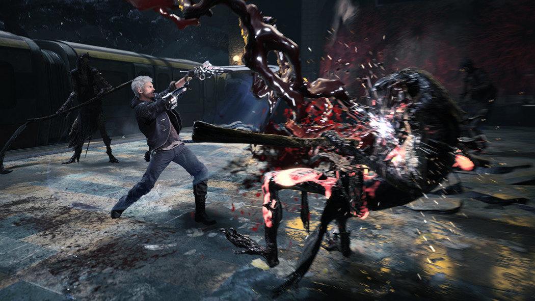 BGS 2018: Jogamos um pouquinho de Devil May Cry 5 com Nero caindo na porrada
