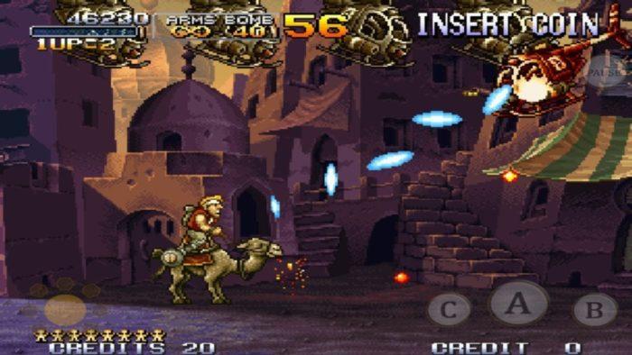 Arkade Móvel - Metal Slug X é um dos melhores arcades no seu bolso!
