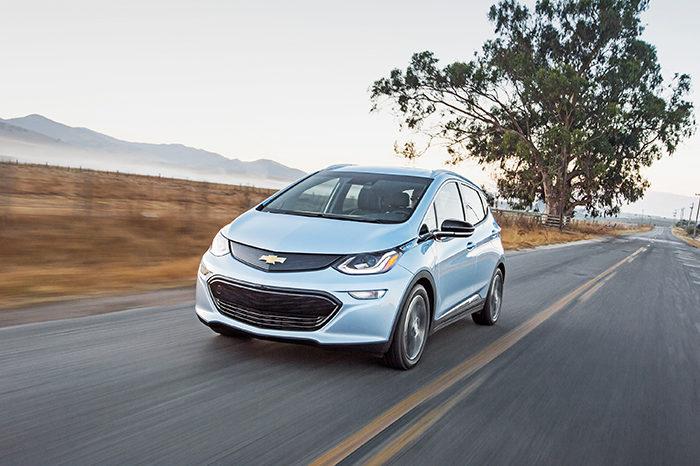 Salão do Automóvel 2018: Testamos o Bolt, o carro elétrico da Chevrolet