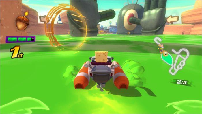 Análise Arkade: Nickelodeon Kart Racers traz personagens famosos, corridas genéricas e muita gosma verde