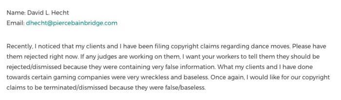 Alguém mandou um e-mail falso para sabotar os processos das danças em Fortnite