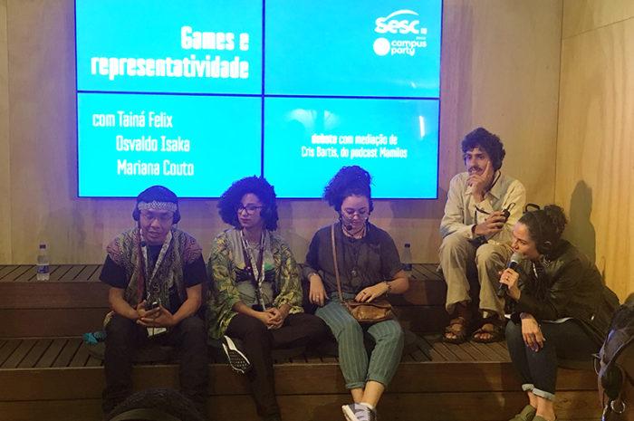 Campus Party 2019 - A diversidade nos games nacionais foi assunto no evento