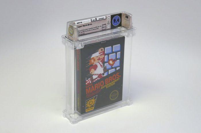 Cópia selada do cartucho de Super Mario Bros. foi vendida por mais de R$370 mil