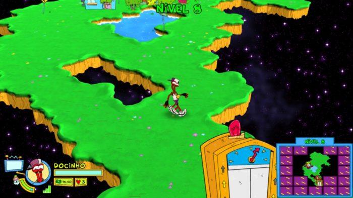 Análise Arkade - ToeJam & Earl: Back in the Groove nem parece um jogo novo