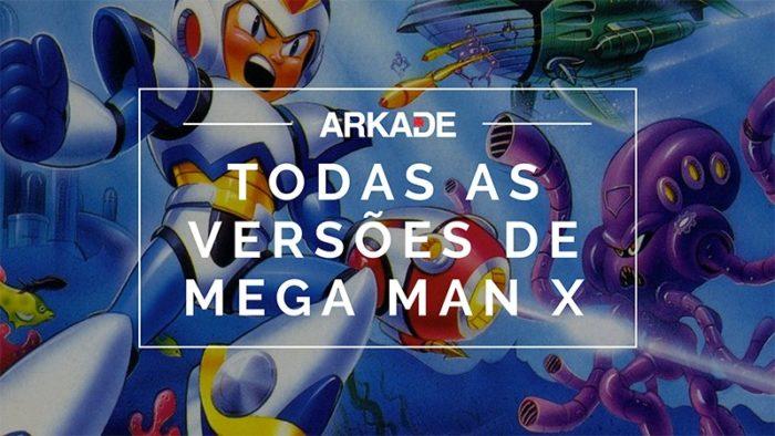 RetroArkade - Todas as versões de Mega Man X