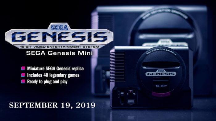Sega anuncia data de lançamento (e alguns jogos) do Mega Drive Mini!